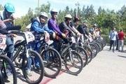 مسابقات دوچرخه سواری قهرمانی استان قزوین پایان یافت