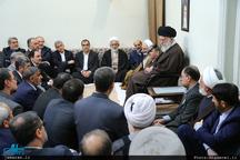 دیدار نوروزی جمعی از مسئولان کشور با رهبر معظم انقلاب