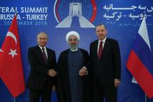 درخواست روسیه برای بررسی نشست سه جانبه تهران در سازمان ملل