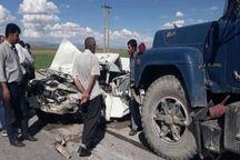 سانحه رانندگی در محور تبریز- ارومیه ۲ کشته برجا گذاشت