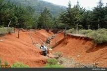 وضعیت بحرانی خاکهای ایران به دلیل شدت آلودگی  فرسایش و آلودگی خاک دلیل کمبود آب