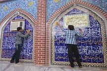 مساجد دزفول در آستانه ماه رمضان غبارروبی شدند