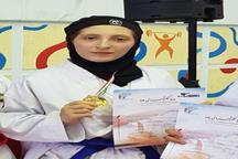 بانوی کردستانی قهرمان رقابت های کاراته دختران کشور شد