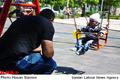 درگیری دو زن در پارک به قتل انجامید