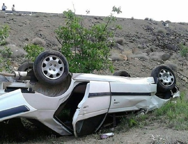 واژگونی خودروی سواری در شیروان 5 مجروح داشت