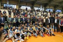تیم بسکتبال یاران جنوب شهرکرد به مقام سومی لیگ ملی رسید