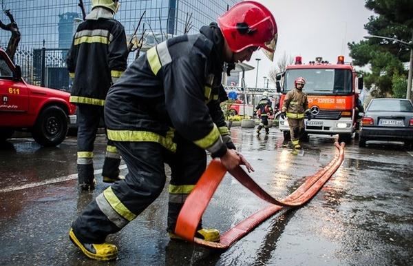 184 مورد عملیات آتش نشانی قزویندر تعطیلات نوروزی