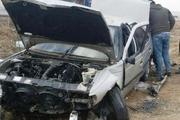 یک کشته و 2 زخمی در سانحه رانندگی جاده مهاباد- میاندوآب