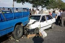 5 کشته و زخمی بر اثر سانحه تصادف در ایلام