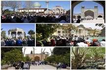 شماربازدید کنندگان نوروزی از آثارتاریخی فارس بیش از 9.6 میلیون نفراعلام شد