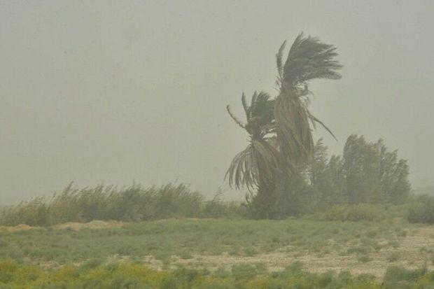 پیشبینی وزش باد و گردوغبار در خوزستان
