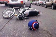 سرعت غیرمجاز، موتور سوار همدانی را به کام مرگ فرو برد