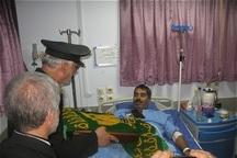 عیادت خادمان آستان قدس رضوی از بیماران البرزی