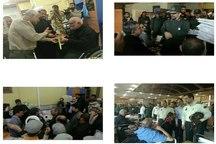 عیادت جمعی فرماندهان نظامی خراسان رضوی از جانبازان دفاع مقدس