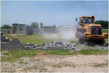اجرای حکم تخریب 12 منزل روستایی در سوادکوه شمالی
