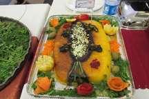 نخستین جشنواره طبخ آبزیان و غذاهای دریایی در بیرجند برگزار شد