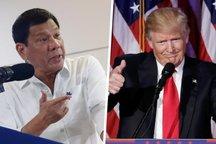 آمریکا ۱۰۰ میلیون دلار به رئیسجمهور فیلیپین کمک میکند