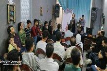 آیین رونمایی از قطعه موسیقی قافله با حضور اهالی هنر و رسانه در خرم آباد