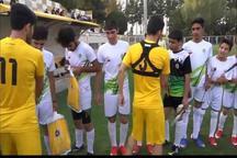 بازیکنان  تیم  سپاهان  با کودکان بی سرپرست مسابقه دادند