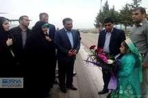معاون رئیس جمهوری و رئیس سازمان حفاظت محیط زیست وارد یاسوج شد