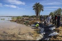 سیلاب تعدادی از روستاهای شهرستان کارون را محاصره کرده است