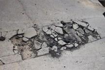 خرابی آسفالت و گلایه رانندگان از مدیریت شهری کرج