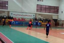 پیروزی تیم فوتسال شهرداری رشت برابر اصفهان