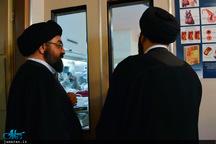 عیادت حجت الاسلام و المسلمین سید علی خمینی از آیت الله نورمفیدی + تصاویر