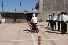 نخستین آموزشگاه موتورسیکلت اردستان راه اندازی شد