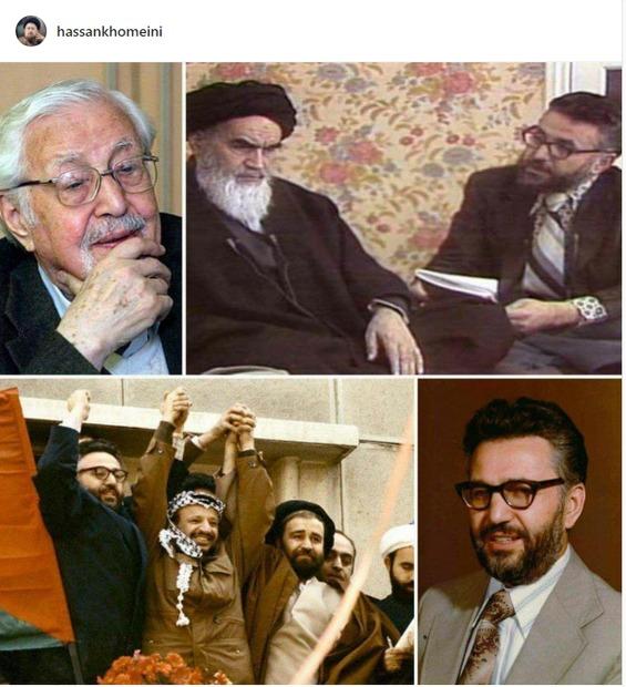 پیام تسلیت سید حسن خمینی به مناسبت درگذشت ابراهیم یزدی