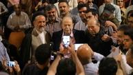 محمد علی کشاورز و سیدمحمد دعایی به تماشای نمایش اعتراف نشست/ عکس
