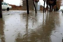 ۱۵ مورد آبگرفتگی در سطح شهر سبزوار در پی بارندگیهای شب گذشته