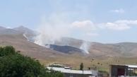 آتشسوزی 11 هکتار از مراتع شهرستان نهاوند  عامل انسانی علت حادثه