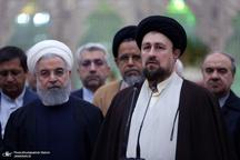 تأکید سید حسن خمینی بر حمایت از دولت و پرهیز از شماتت و عقده گشایی