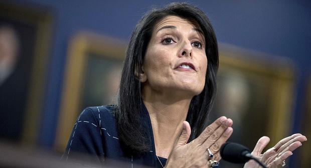 نیکی هیلی: تا زمان تحقق اهداف آمریکا نیروهایمان در سوریه میمانند