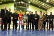 کردستان قهرمان مسابقات چند جانبه کیک جیتسو غرب کشور شد