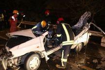 سانحه رانندگی در جاده گلبهار به مشهد سه کشته برجای گذاشت