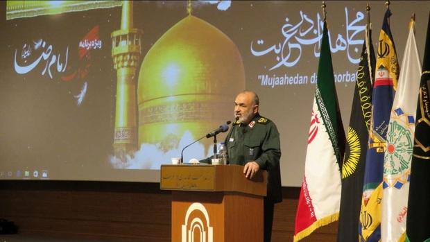 سومین مراسم نکوداشت «مجاهدان در غربت» در دانشگاه دامغان برگزار شد