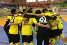 پیروزی پر گل ملی حفاری در هفته بیست و چهارم لیگ برتر فوتسال