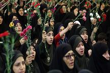 اجتماع ریحانه های انقلاب در مشهد برگزار شد