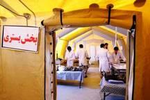 40هزار و 763 زائر در بیمارستان صحرایی شلمچه درمان شدند