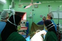 نخستین عمل لاپاراسکوپی خاتم در بیمارستان شهر هرات انجام شد