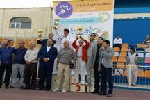 تیم اصفهان در مسابقات دو و میدانی کارگران کشور سوم شد