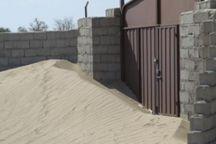 150 روستای ریگان در محاصره شن های روان قرار دارد