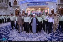 تجدید میثاق فرماندهان نیروی انتظامی با آرمان های حضرت امام(س)