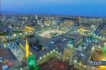 بزرگترین سفره افطار جهان اسلام در حرم مطهر رضوی