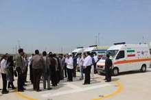 اورژانس بوشهر درطرح نوروزی یکهزار و 541 ماموریت انجام داد