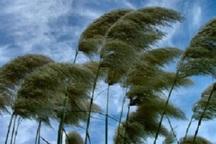 وزش باد در خراسان رضوی تداوم دارد