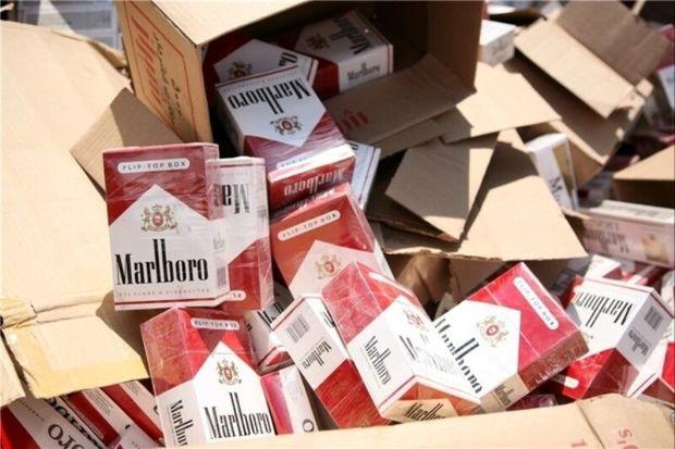 محموله سیگار قاچاق در تالش کشف شد