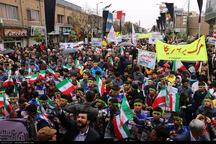 راهپیمایی ضد استکباری 13 آبان در زنجان آغاز شد
